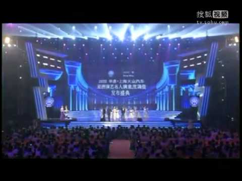 Pong Nawat Asia's Most Favorite TV Actor in Huading Awards 2012