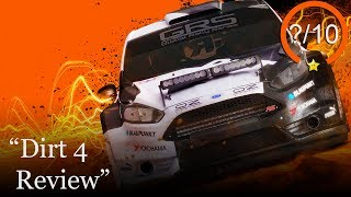 Dirt 4 PS4 Review (Video Game Video Review)