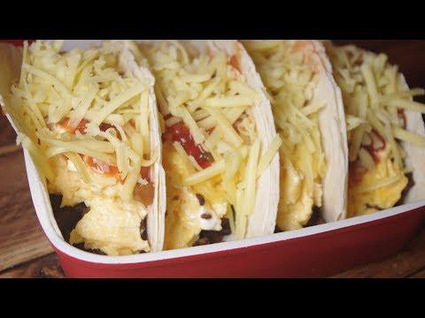 How To Make Tex-Mex Scrambled Egg Tacos - Recipe