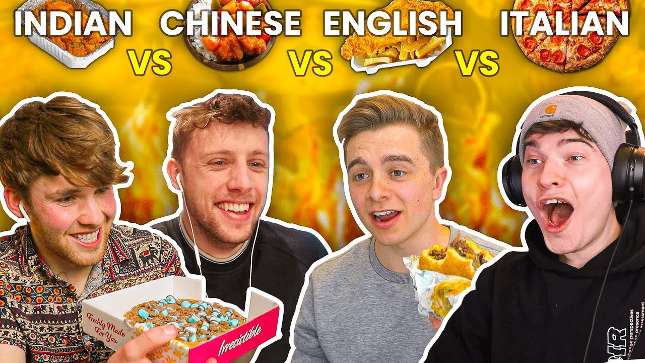 The World Cup of Takeaways (MUKBANG)