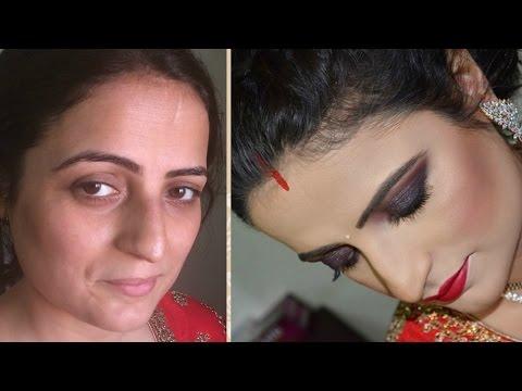 RECEPTION MAKEUP   Makeup For Best Friend's Reception