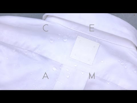 CEAM: Water-Repellent Minimal Shirt Collection w/100% cotton