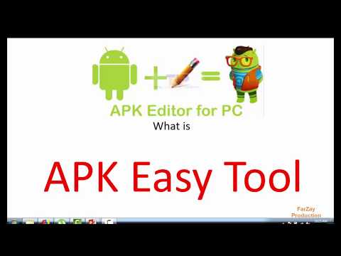 Best Android App Editor For PC Or Laptop(APK Easy Tool)