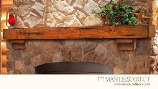 Wood Mantel Shelves | Roi1