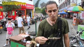Stinky Tofu - Eating Smelly Tofu In China!