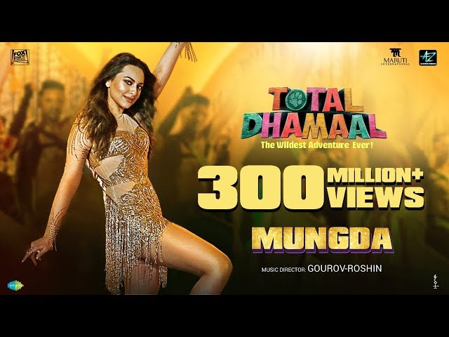 Mungda | Full Song | मुंगडा |Total Dhamaal | Sonakshi| Jyotica | Shaan |Subhro |Gourov-Roshin