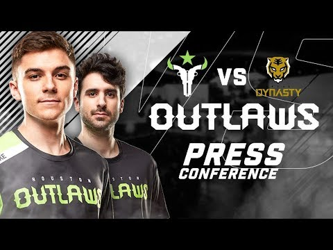 Houston Outlaws Press Conference Stage 3 Week 5 (Seoul Dynasty)