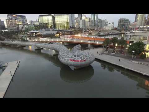 Melbourne Docklands captured with DJI phantom 3