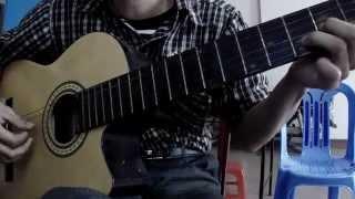 Tình dại khờ - guitar