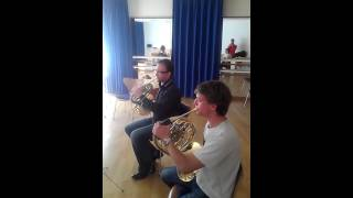 Superman for horn quartett