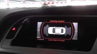 Audi A4 B8 Parking Sensors System Demo 2008 to 2015