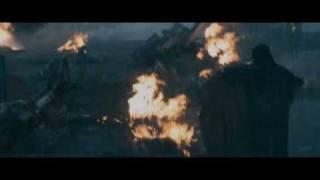 Авиа катастрофа самолета, отрывок из фильма Знамение