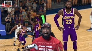 Lebron Was Disappointed At This Buzzer Beater! Lakers vs Jazz NBA 2K19 MyCareer Ep 46