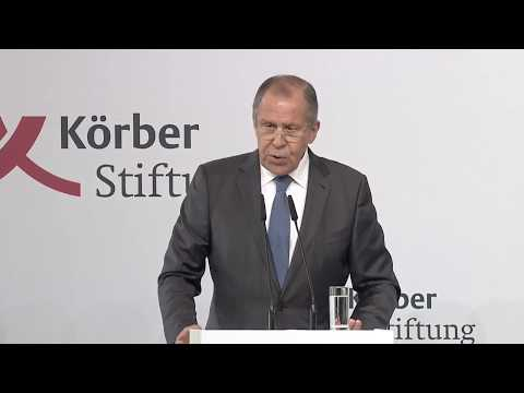 Sergey Lavrov, Minister of Foreign Affairs of the Russian Federation