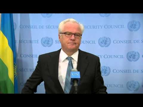 Ukraine, Iraq and Syria: Vitaly I  Churkin   Security Council Media Stakeout   June 16, 2014