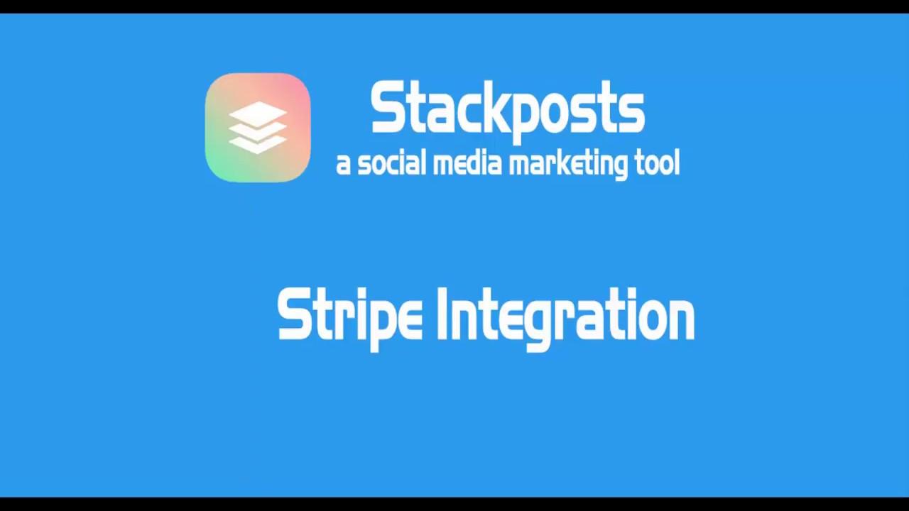 Stackposts – Stripe Integration