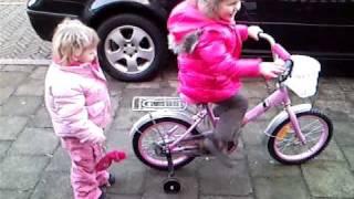 fietsen voor de deur
