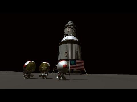 Kerbal Space Program - Apollo Direct Ascent - RSS