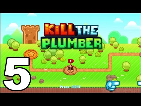 Kill the Plumber World - Gameplay Walkthrough Part 5 - World 4: Levels 49-60 (iOS, Android)