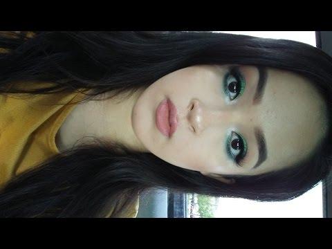 Emerald Green Eyeshadow Make Up Tutorial
