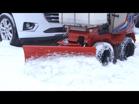 Save Hours Of Shoveling With The Ventrac SSV Snow Blade – Simple Start