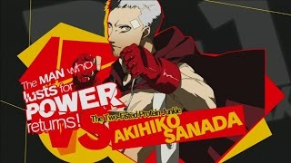 "Akihiko Combos Persona 4 Arena ""Break a mirror"""