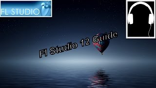 how to use fl studio 12 for beginners Guide Easy [Edm music making] Basic chords and melody #Part 1