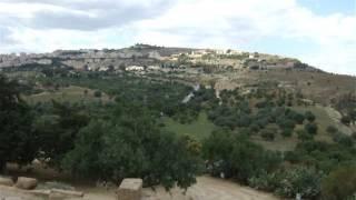 видео Долина храмов в Агридженто (Agrigento). Италия, Сицилия