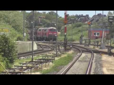 Westerland - operation as on the model railway