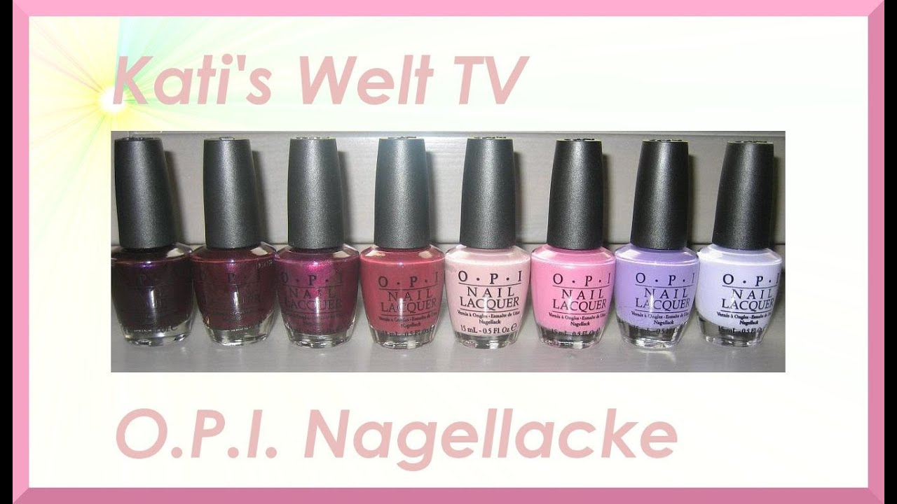 opi nagellack g nstig online bestellen youtube. Black Bedroom Furniture Sets. Home Design Ideas