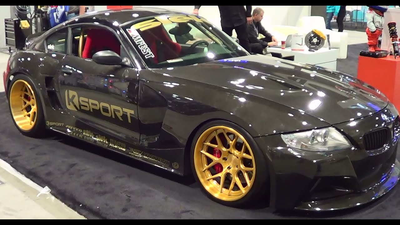 Bmw Z4 Exposed Carbon Fiber Body Sema 2013 Youtube