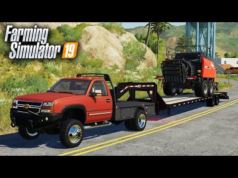 FS19- FILLING HAULING CONTRACTS-  TRANSPORTING LOADS FOR PEOPLE AROUND TOWN thumbnail