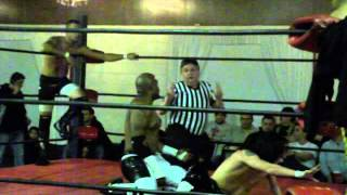 Anarchy Pro Wrestling Chicago-Team Action Pack vs.Team Yolo