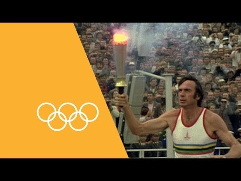 The Olympic Flame - A Journey Through Time | 90 Seconds Of The Olympics