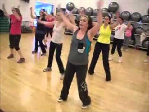 Zumba Footloose With Fabienne -israel -זומבה עם פביאן
