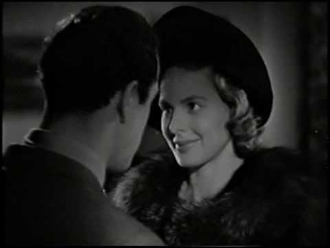 Ingrid Bergman speaks german (II) - Happy End - Die vier Gesellen (1938)