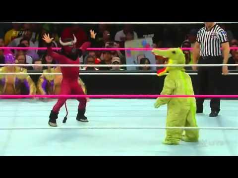 El Torito vs Mini Gator  Raw
