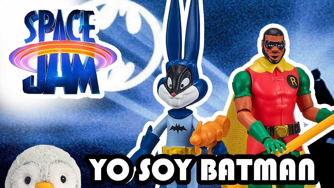 Download 🏀 SPACE JAM  Nuevas figuras Moose Reseña BUGS BUNNY Batman LEBRON ROBIN || Pachi y los looney tunes