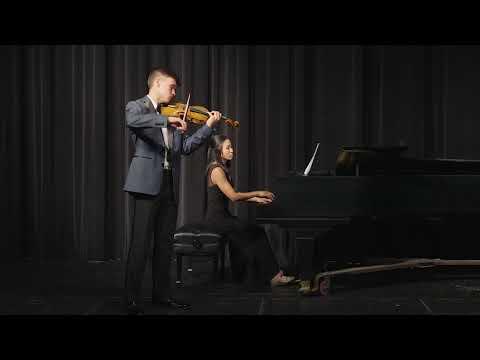 Adryán Zuriel Rojas Performs the Mendelssohn Violin Concerto
