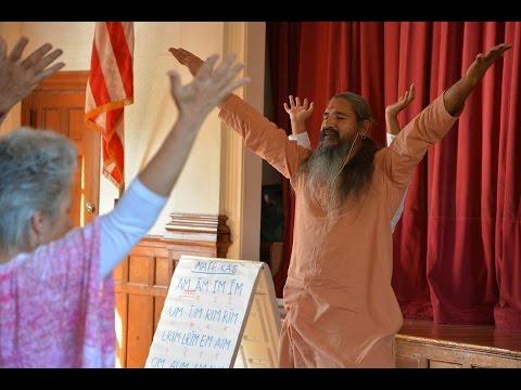 Swakriya Matricas with Swami Gurusharanananda