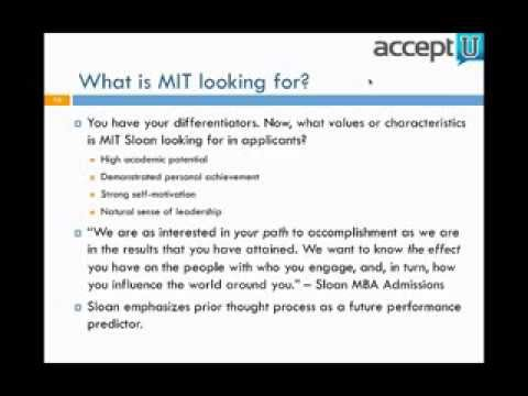 MIT Sloan Essay Analysis 2013 2014 Season Write Like An Expert