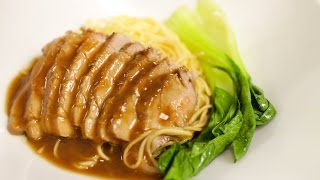 Honey Roasted Pork หมูอบนำ้ผึ้ง - Hot Thai Kitchen