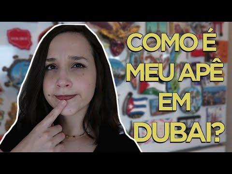 COMO É UM APARTAMENTO EM DUBAI | ACOMODAÇÃO DA EMIRATES • larrorex