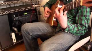 Nisemonogatari Platinum Disco Solo guitar instrumental