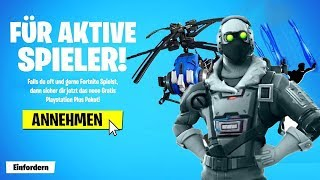 The NEW FREE SKIN in Fortnite.. (Exclusive)