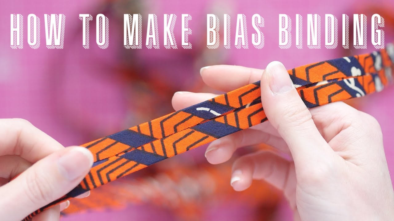 How to Make Bias Binding | Handmade Bias Binding