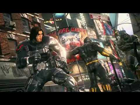 Marvel vs cspcom infinite winter soldier, black widow, venom
