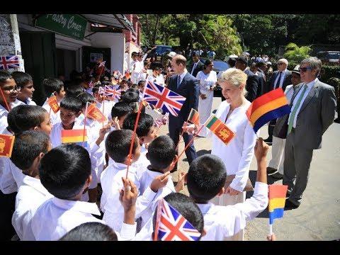 Trinity College Kandy - Prince Edward's visit 2018
