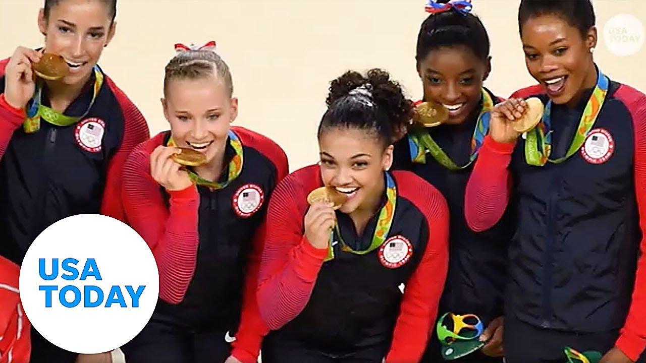 Photos: Simone Biles, USA gymnasts train in Tokyo