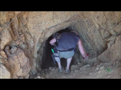 Exploring Gold Mine, Prospecting & Metal Detecting